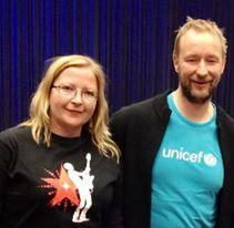 S smučarjem in UNICEF-ovim ambasadorjem Kjetilom Andrejem Aamodtom